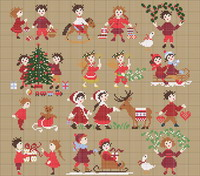 Happy Childhood collection  - Christmas time <br> PER005-PRT