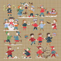 Happy Childhood collection  - Winter <br> PER004-PRT