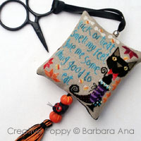 Trick or treat Scissor fob <br> BAN195-PRT
