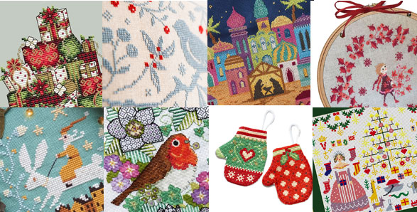Christmas cross stitch pattern news and new releases