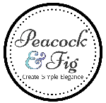 Cross stitch patterns by Peacock & Fig, published by Creative Poppy