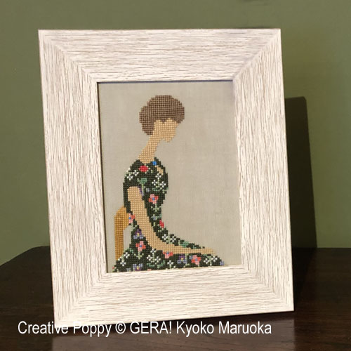 Woman 1 cross stitch pattern by GERA! by Kyoko Maruoka