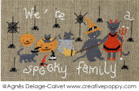 We're a spooky family!  <br> ADC039-PRT
