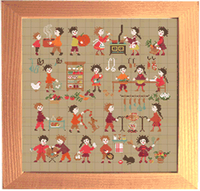 Happy Childhood collection  - In the kitchen <br> PER011-PRT