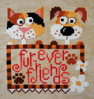 Fur-ever friends <br> BAN006-PRT