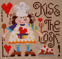 Kiss the cook <br> BAN011-PRT