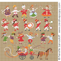 Happy childhood collection - Carnival <br> PER013-PRT