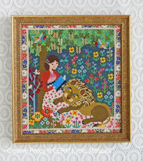 Pride & Prejudice (Jane Austen) cross stitch pattern by GERA! Kyoko Maruoka