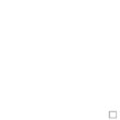 Singing Bird Rose Heart (with Monograms)<br> PER225-PRT